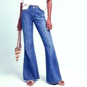 Ultra High Waist Flare Jeans